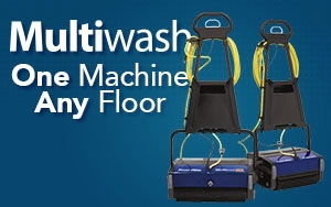 Multiwash Auto Scrubber One Machine Any Floor