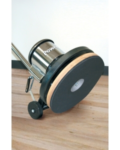 "17"" 1.5 hp, Classic Metal Floor Machine with Sandpaper Driver"