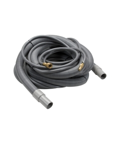 """TMHD Vacuum Hose, 1-1/2"""" x 20', Gray with solution line and cuffs, 1 per carton"""