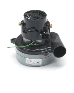 Tangential Discharge Vacuum Motor - Lamb #116392-00, BPT, B/B, AS, E, PB, SP, 2 STG