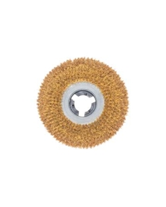 """12"""" Union mix brush with clutch plate"""