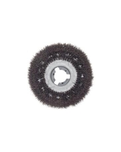 "19"" Bassine scrub brush with clutch plate"