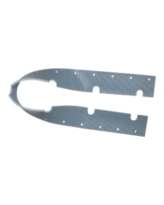 FRONT SQUEEGEE BLADE, GRAY    W/HOLES FOR CT100/200