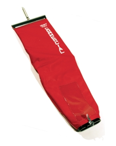 Eureka / Sanitaire OEM open top cloth bag, Red TieTex