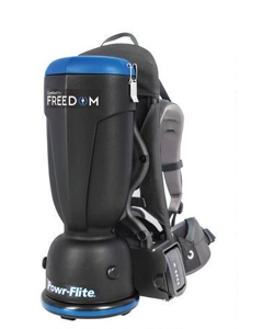 The Comfort Pro Freedom Battery Backpack Vacuum is lighter, quieter and less expensive than the leading competitor.
