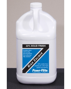 22% High Solids Floor Finish - High Calibur, 1 gallon