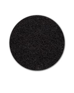 "20"" Heavy-duty black stripping pad, 5 per case"