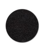 "17"" Heavy-duty black stripping pad, 5 per case"