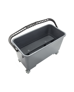 "Microfiber mop bucket, 7 gallon capacity, Fits 18"" microfiber mop"