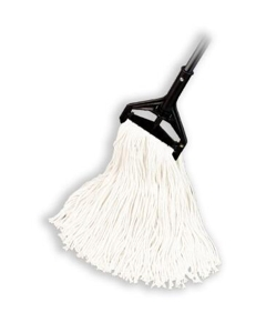 "Rayon Cut End Wet Mop, 1-1/4"" headband, #24 Large"