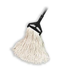 """Cotton Cut End Wet Mop, 1-1/4"""" headband, #16 Medium"""