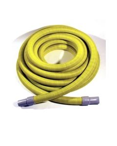 "TMHD Vacuum Hose, 1-1/2"" x 50', Yellow / Black with cuffs, 1 per carton"