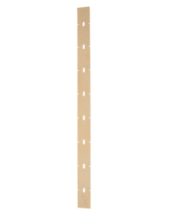 Front squeegee blade, curved, new style, PAS20DX