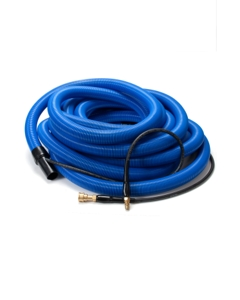 "Insider Vacuum Hose, 1-1/2"" x 50', Gray with insider solution line and swivel cuffs, Up to 400 P.S.I., 1 per carton"
