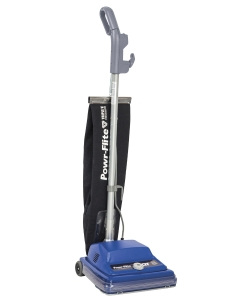 "12"" Commercial Shake-Out Bag Upright Vacuum w/QT Tech"