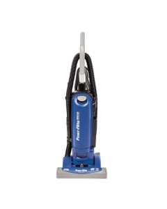 """Commercial Upright Vacuum 15"""" HEPA with On-Board Tools"""