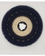 "11"" Medium Grit Scrub Brush with clutch plate"