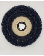 "17"" Medium Grit Scrub Brush with clutch plate"