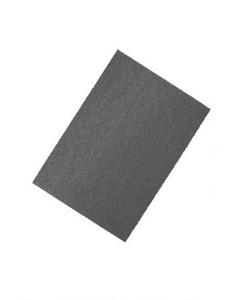 "14"" X 20"" Black Strip Pad"