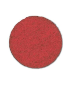 "20"" Red spray buff pad, 5 per case"