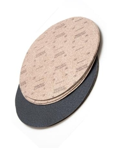 "80 Grit sandpaper disc, 16"" to 17"", 20 discs per box"