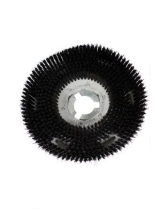 "13"" Polypropylene Shower-feed brush with UP2P clutch plate"
