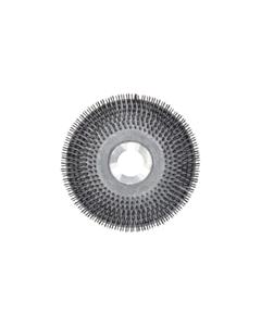 "15"" Wire scrub brush with clutch plate"