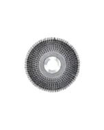 "18"" Wire scrub brush with clutch plate"