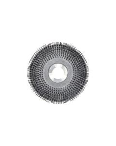 "20"" Wire scrub brush with clutch plate"