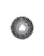 "11"" Wire scrub brush with clutch plate"