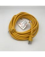Cord, Vacuum, 40', Yellow, Ext Cord