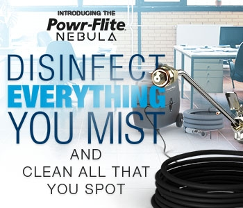 Disinfect everything you mist with the Nebula MIster!