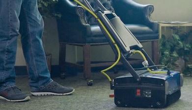 agitate before carpet extrcaction