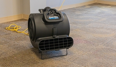 carpet dryer for carpet extraction
