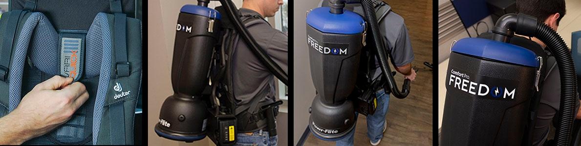 Comfort Pro Freedom Cordless Vacuum