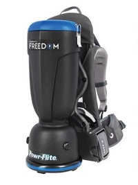 Comfort Pro Freedom Battery Backpack Vacuum