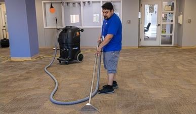 heated carpet extractor
