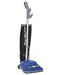 Commercial Shake-Out Bag Upright Vacuum w/QT Tech 12""
