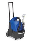 Portable Carpet Spotter 3.5 Gallon with Detail Tool and 10' Stretch Hose