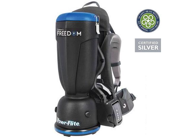 Comfort Pro Freedom Cordless Backpack Vacuum Cleaner 6 Quart