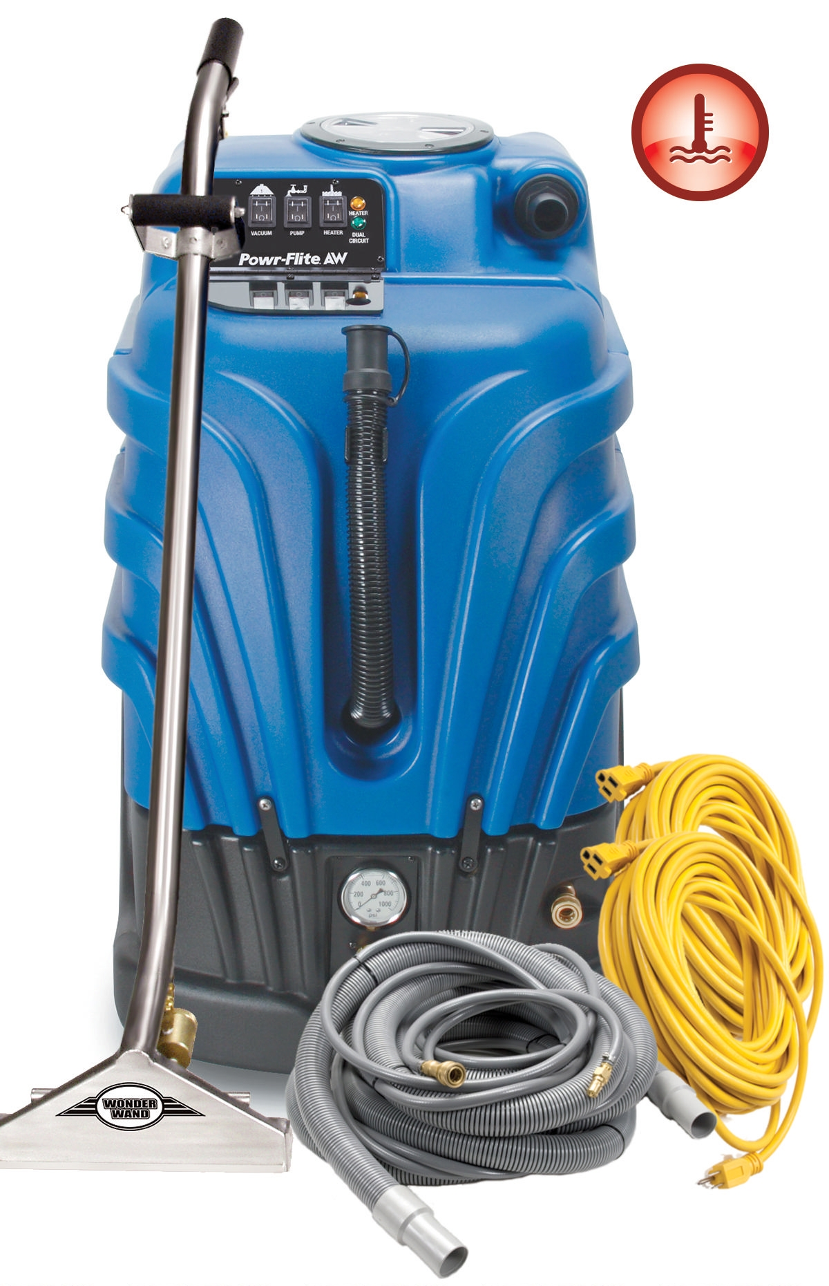 Carpet Extractor Airwatt Heated Gold Package
